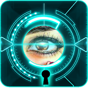 Eye Scanner prank Mobile Locker