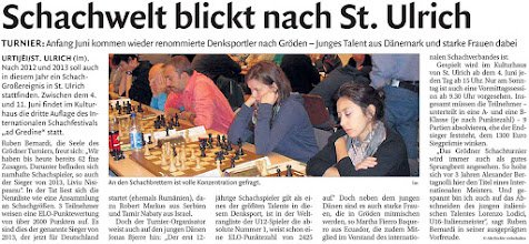 Photo: Artikel Dolomiten 08.04.2016