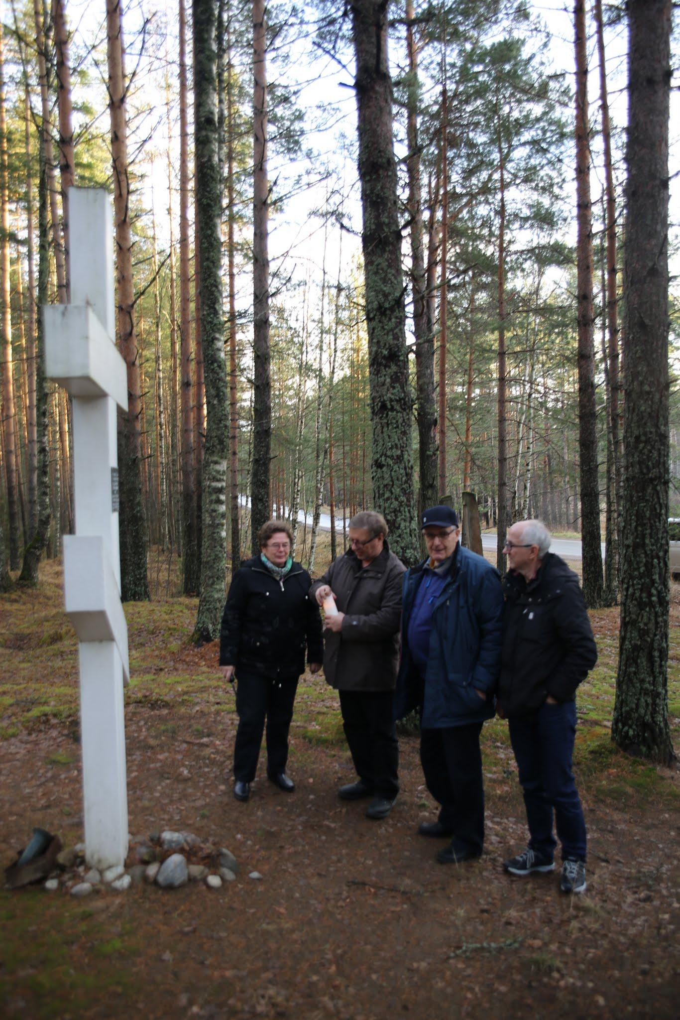 Photo: Kirsti, Pekka, Matti ja Kalevi
