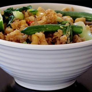 Thai Savory Brown Fried Rice