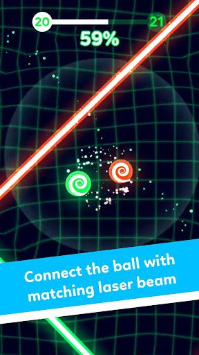 Balls VS Lasers: A Reflex Game