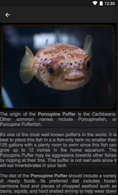 Aquarium I.D. LITE- screenshot