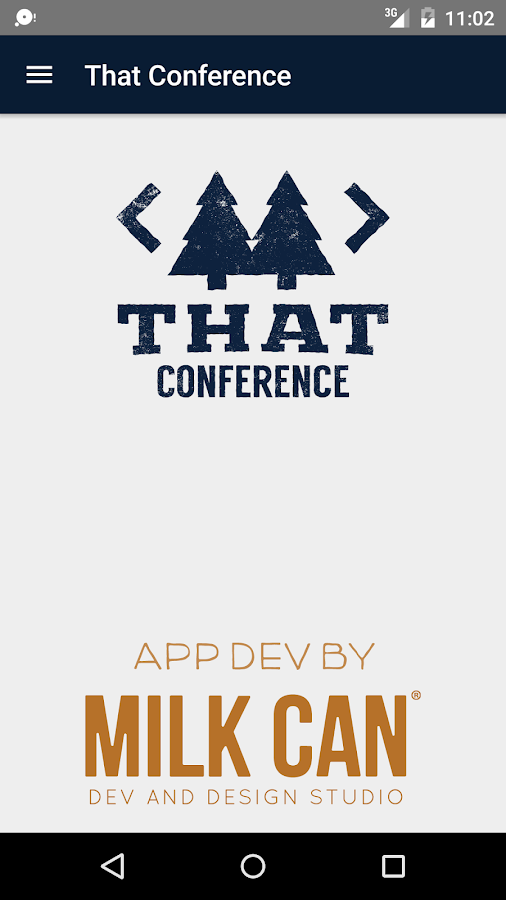 That Conference 2016- screenshot