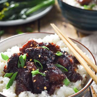 The Best Crock Pot General Tso's Chicken