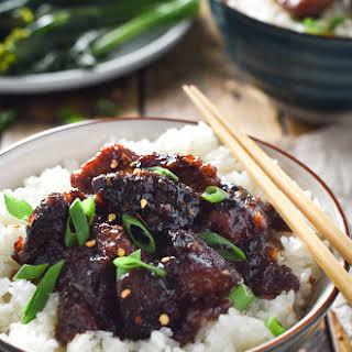 The Best Crock Pot General Tso's Chicken.