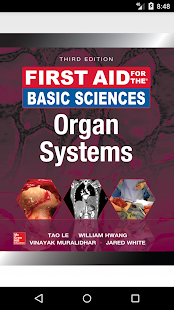 First Aid for the Basic Sciences: Organ Systems 3E- screenshot thumbnail