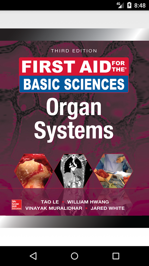 First Aid for the Basic Sciences: Organ Systems 3E- screenshot