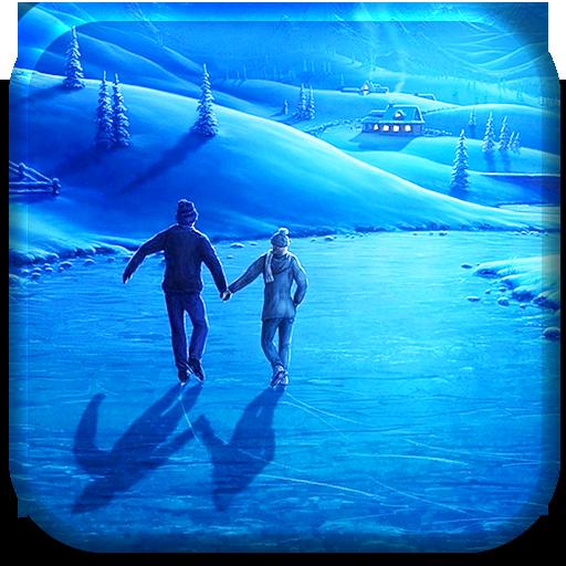 个人化のクリスマススケートリンクライブ壁紙 LOGO-記事Game