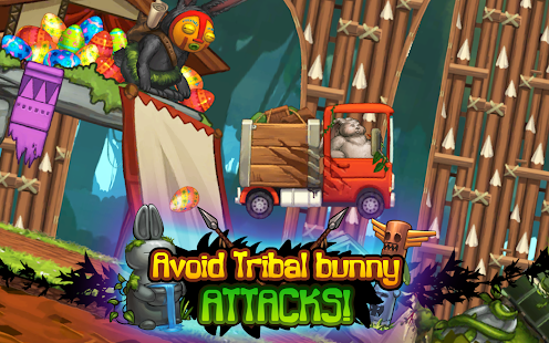 Angry Bunny Race: Jungle Road - náhled