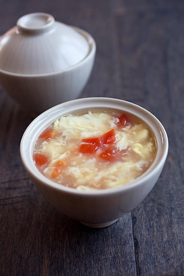 Shanghai Egg Drop Soup Recipe