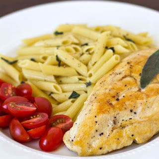 Herbed Chicken with Fresh Sage