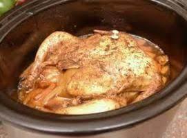 Crockpot, Roasted Whole Chicken Recipe