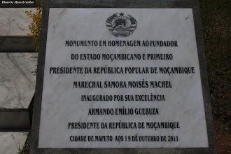 Photo: Marechal Samora Moisés Machel