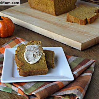 Gluten Free Pumpkin Banana Bread {No Sugar Added}