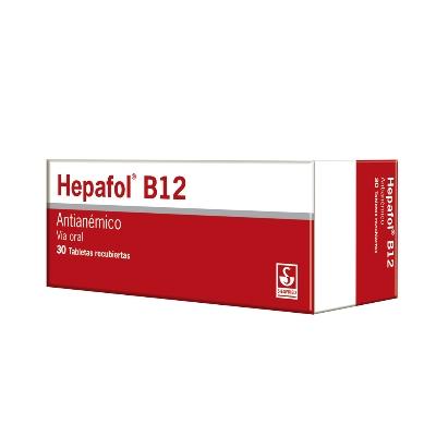 Antianemico Hepafol B12 X 30 Cápsulas Siegfried X 30 Cápsulas