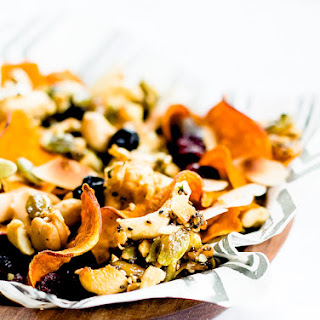 Honey Nut Cluster & Sweet Potato Chip Snack Mix {paleo}
