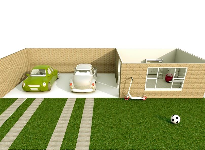 Garaż przy domu