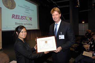 Photo: Relistor Kandidaat Galenus Geneesmiddelenprijs 2009 in Leidenfoto © Bart Versteeg
