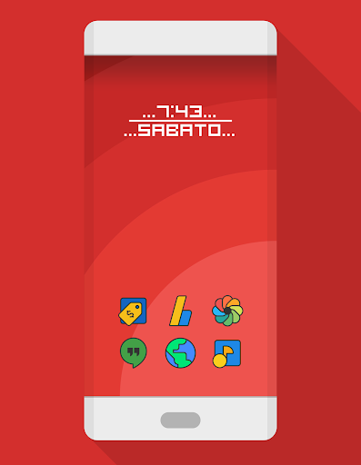 DARKMATTER - ICON PACK Applications pour Android screenshot