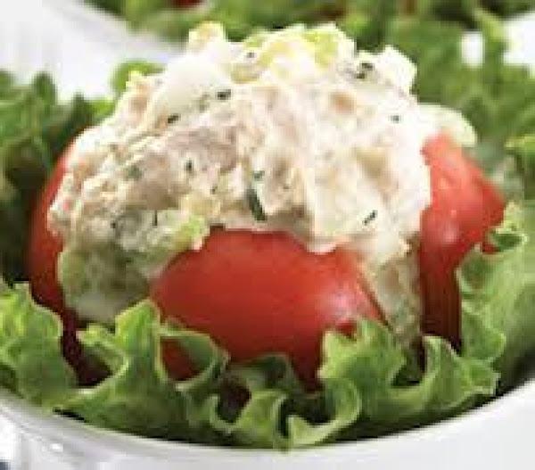 Tuna Stuffed Tomatoes Recipe