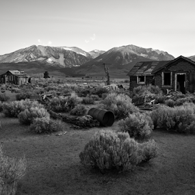 Home Sweet Home by Michael Keel - Black & White Landscapes ( yosemite, black and white, sierra, route 395 )