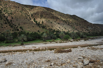 Photo: J01 : Sur la route d'Ait Baha à Khemis Ait Moussa