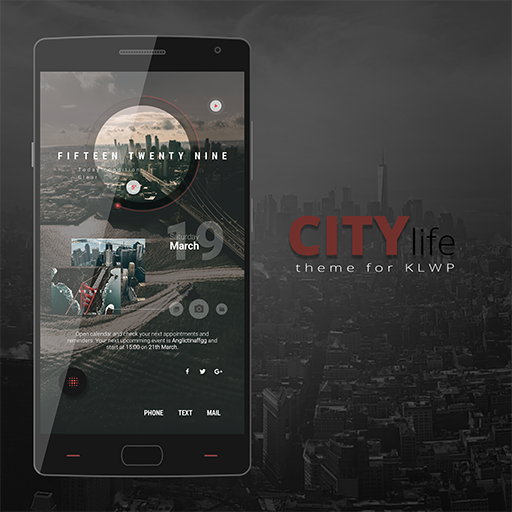 City Life Theme for KLWP
