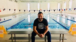 Antonio Rodríguez tiene previsto cruzar a nado el estrecho de Gibraltar un día de la segunda semana de julio.