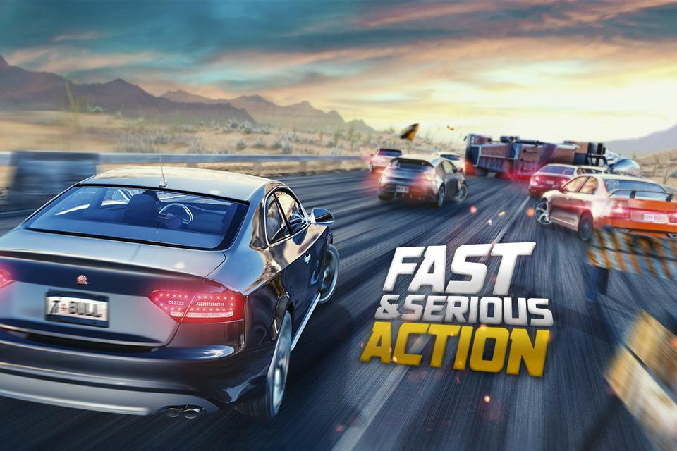 Road Racing: Highway Traffic & Furious Driver 3D- screenshot