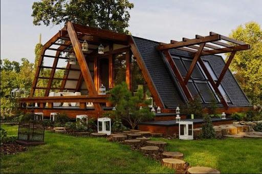Wooden House Design 1.0 screenshots 2