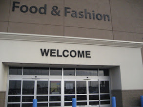 Photo: Walmart sure does a lot to try to make you feel welcome at their stores!