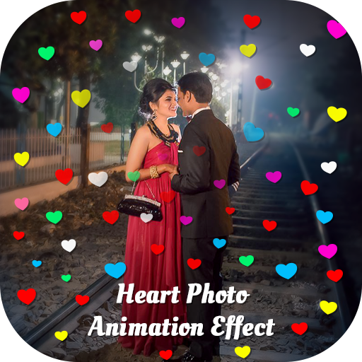 Heart Photo Animation Effect - Video Maker