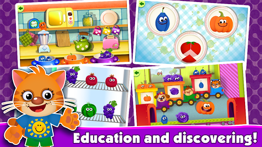 FunnyFood Kindergarten learning games for toddlers  screenshots 3