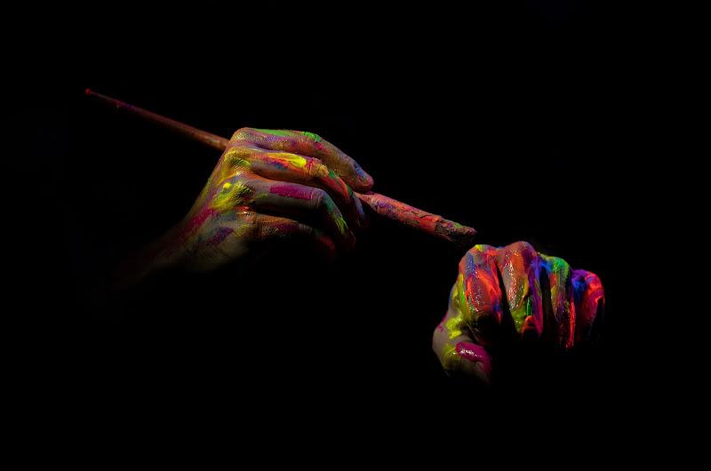 Tutti i colori che hai nella mente te li farò vedere e li vedrai brillare di Giovanni Coste