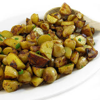 Country Fried Potatoes Made Skinny.