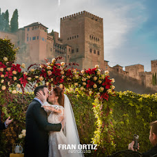 Wedding photographer Fran Ortiz (franortiz). Photo of 26.12.2018