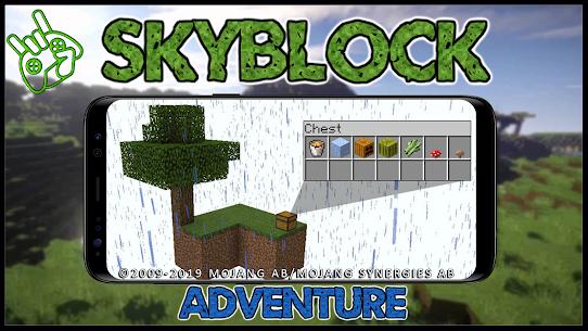 Map SkyBlock Adventure 3