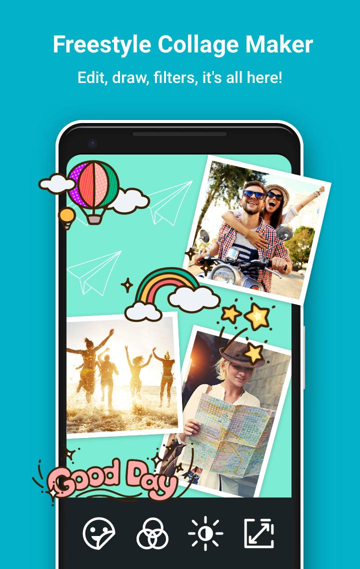 PhotoGrid: Video & Pic Collage Maker, Photo Editor Screenshot 1