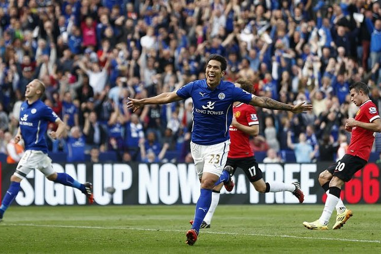 Leicester City retourne Manchester United