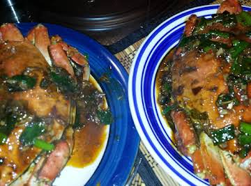 Lemongrass and Ginger Crab with Coconut Rice
