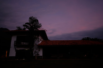 Photo: The Finca near nightfall.