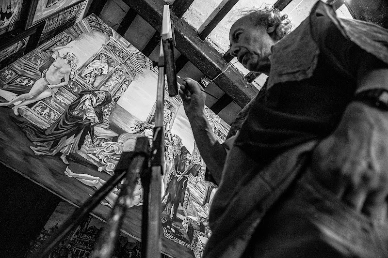 Zampa, il pittore. di daniela giannangeli