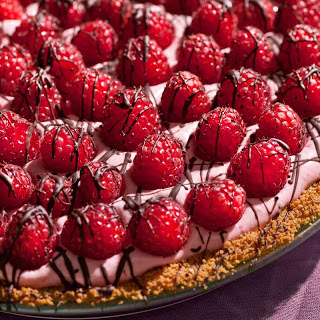 Chocolate-Raspberry Cream Pie