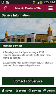 ICSA Masjid- screenshot thumbnail