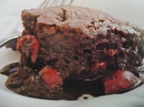 The Best Gluten-free Chocolate Cherry Pudding Cake Recipe