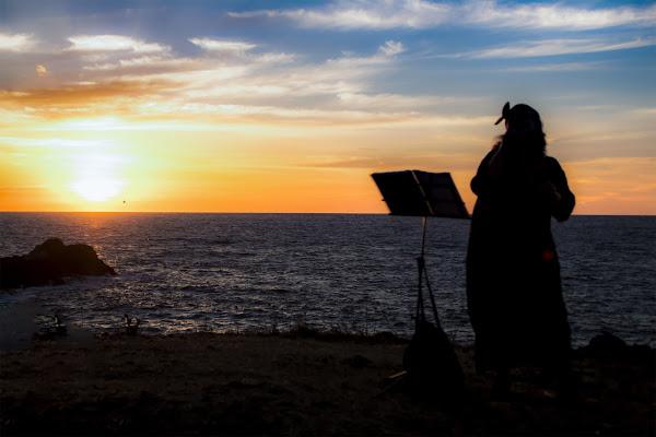 Cantando al tramonto di Andrea C.
