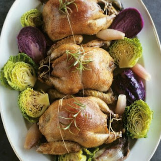 Poultry with Two Coloured Sprouts