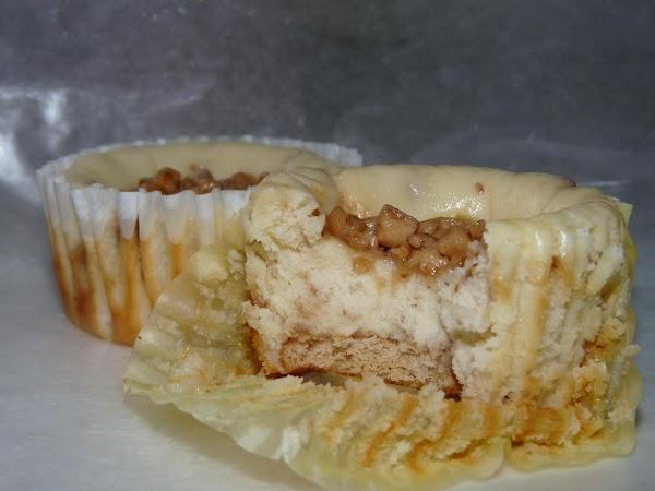 Toffee Cheesecake Minis Recipe