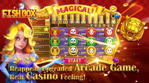 Fish Box - Casino Slots Poker & Fishing Games androidhappy screenshots 2