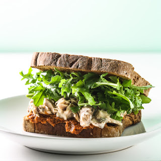 Canned Salmon Salad Sandwich.